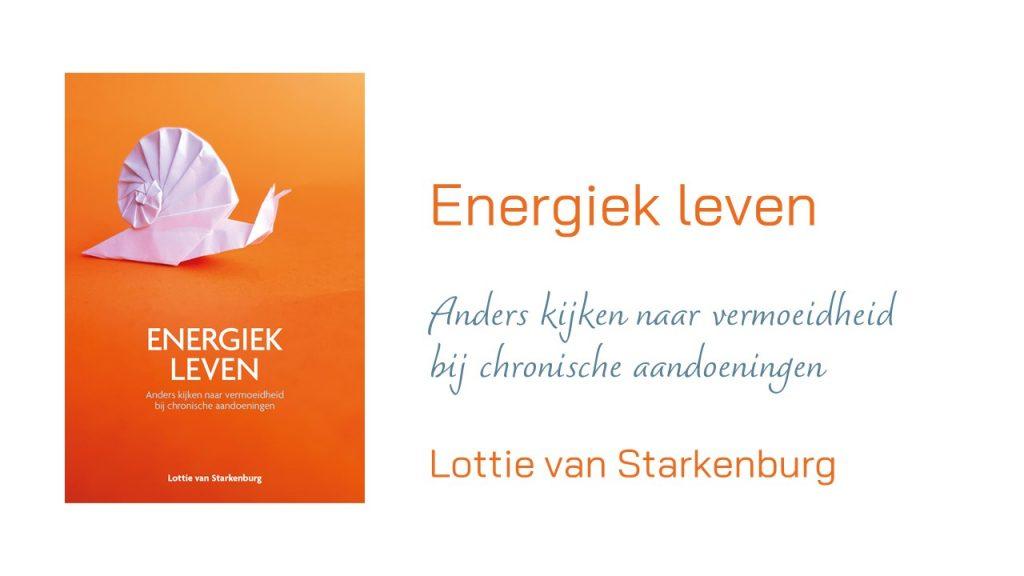 Omslag en titel 'Energiek leven'