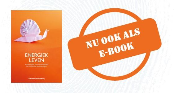 Energiek leven is nu ook als e-book verkrijgbaar