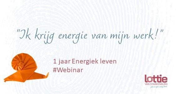 Webinar 'Werken met Energiebeperkingen'