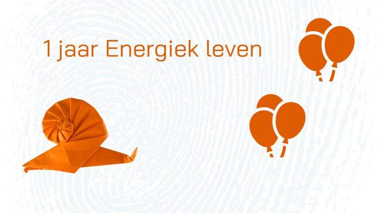 1 jaar Energiek leven feest!