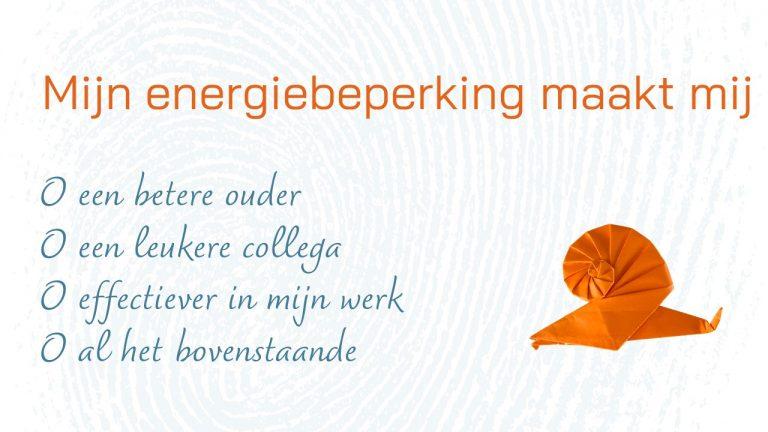 Beter in je werk dankzij minder energie (2)
