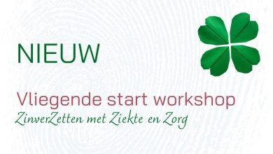 Vliegende Start Workshop ZinverZetten met Ziekte en Zorg