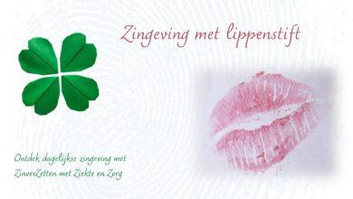 Zingeving met lippenstift